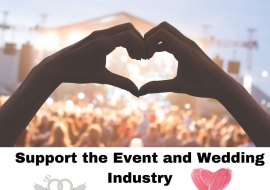 Support the Wedding Industry