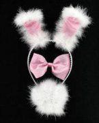 Pink 3 Piece Bunny Set