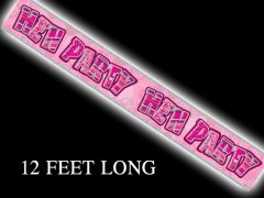 Pink Hen Party Banner