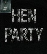 Diamonté Hen Party TShirt
