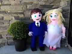 Bride & Groom Pinata