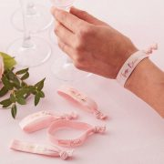 Hen Party Wrist Bands - Pink