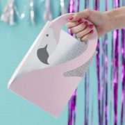 Flamingo Shaped Handle Party Bags