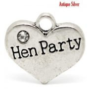 Hen Party Wine Glass Charm