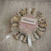 Vintage Bridesmaid Rosette